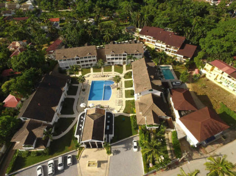 Albachiara Hotel Residence - dall'alto 03