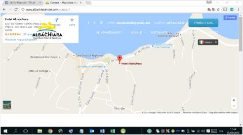 Albachiara Hotel Residence - Google Map